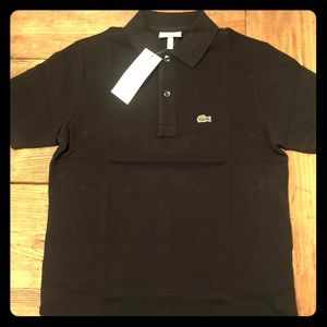 Lacoste boys polo sz 12 NEW
